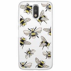 Motorola Moto G4 (Plus)  hoesje - Queen bee
