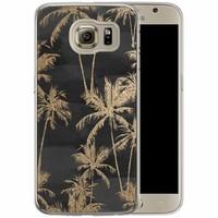 Casimoda Samsung Galaxy S6 siliconen hoesje - Palmbomen
