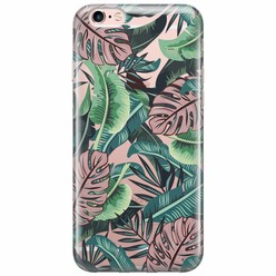 iPhone 6/6s transparant hoesje - Jungle