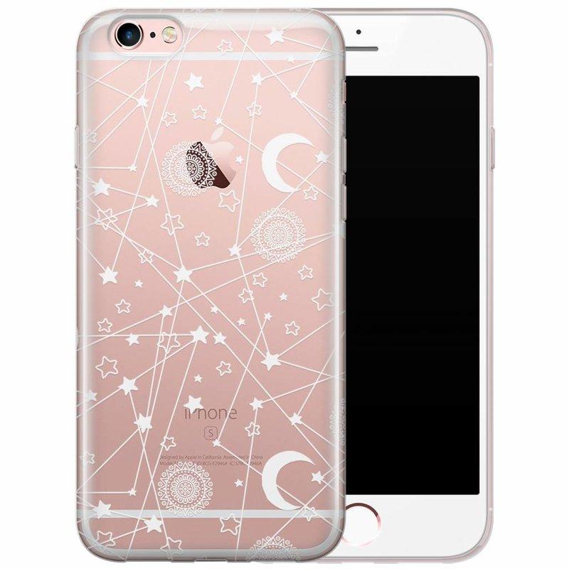 iPhone 6/6s siliconen hoesje - Space universum