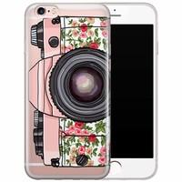 iPhone 6/6s transparant hoesje - Hippie camera
