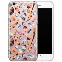 iPhone 6/6s transparant hoesje - Veren