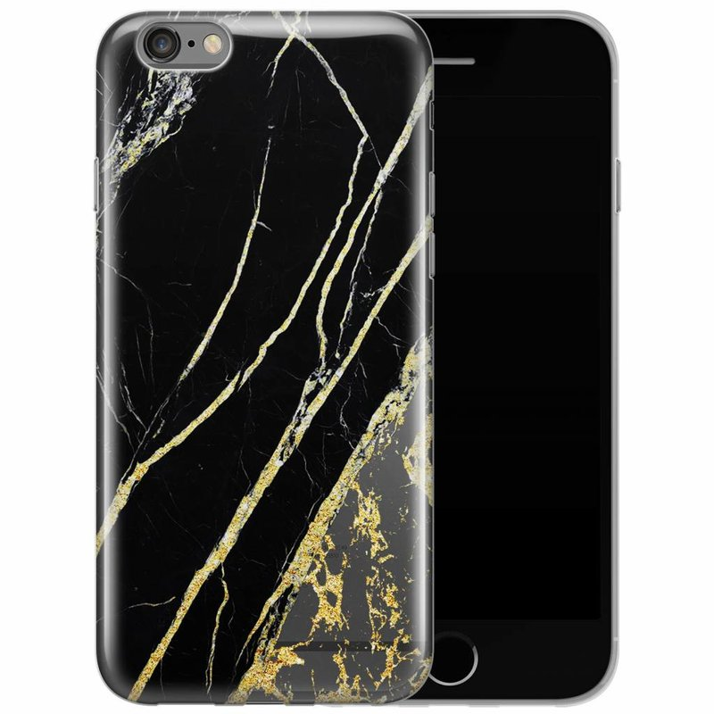 iPhone 6/6s transparant hoesje - Stay golden