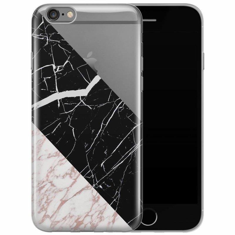 iPhone 6/6s siliconen hoesje - Marblous