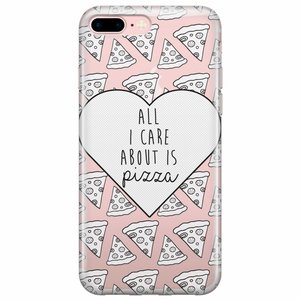 iPhone 7 Plus / iPhone 8 Plus hoesje - Pizza is love