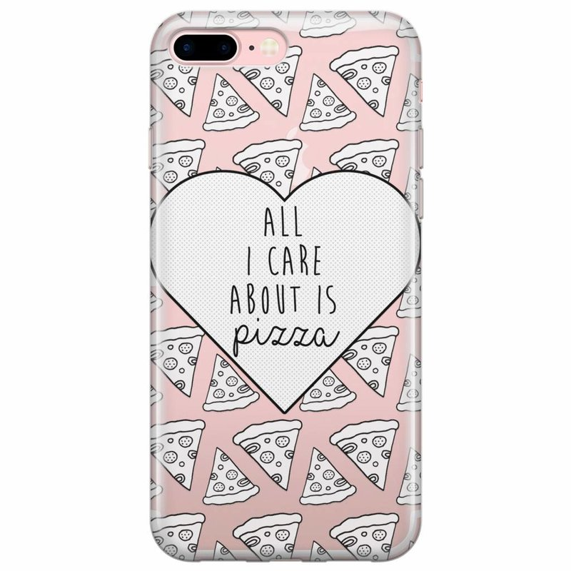 iPhone 7/8 Plus hoesje - Pizza is love