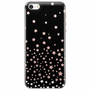 iPhone 5/5S/SE transparant hoesje - Sky full of stars
