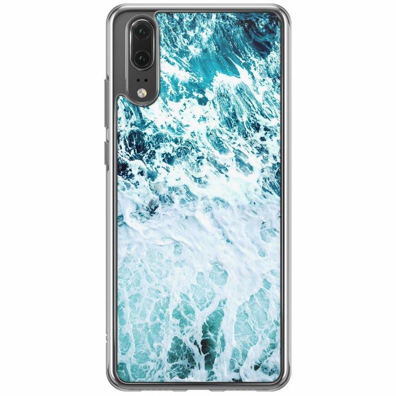 Casimoda Huawei P20 siliconen hoesje - Oceaan