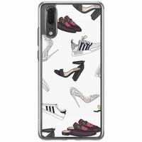 Casimoda Huawei P20 siliconen hoesje - Shoe stash