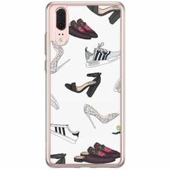 Huawei P20 siliconen hoesje - Shoe stash