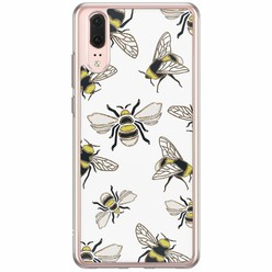 Casimoda Huawei P20 siliconen hoesje - Queen bee