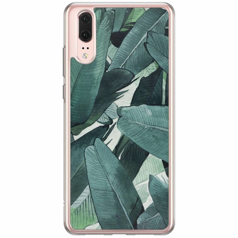 Casimoda Huawei P20 siliconen hoesje - Jungle