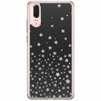Casimoda Huawei P20 siliconen hoesje - Falling stars