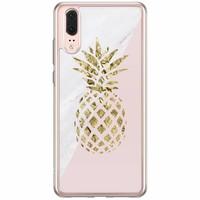 Casimoda Huawei P20 siliconen hoesje - Ananas