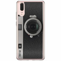 Casimoda Huawei P20 siliconen hoesje - Camera
