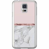 Casimoda Samsung Galaxy S5 (Plus) / Neo siliconen hoesje - Rose all day