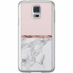 Casimoda Samsung Galaxy S5 (Plus) / Neo siliconen hoesje - Rose all day