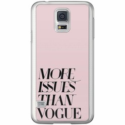Casimoda Samsung Galaxy S5 (Plus) / Neo siliconen hoesje - Vogue issues