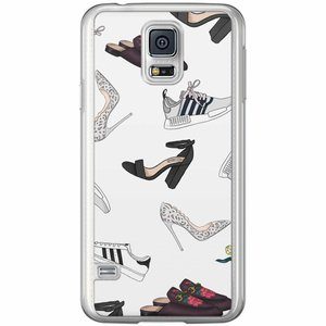 Samsung Galaxy S5 (Plus) / Neo siliconen hoesje - Shoe stash