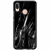 Huawei P20 Lite hoesje - Black marble