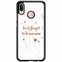 Huawei P20 Lite hoesje - Don't forget to be awesome