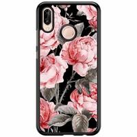 Huawei P20 Lite hoesje - Moody florals