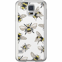 Casimoda Samsung Galaxy S5 (Plus) / Neo siliconen hoesje - Queen bee