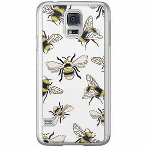 Casimoda Samsung Galaxy S5 (Plus) / Neo siliconen hoesje - Queen bee
