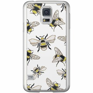Samsung Galaxy S5 (Plus) / Neo siliconen hoesje - Queen bee