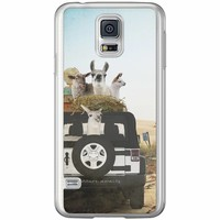 Casimoda Samsung Galaxy S5 (Plus) / Neo siliconen hoesje - Adventure awaits
