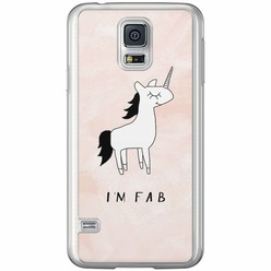 Casimoda Samsung Galaxy S5 (Plus) / Neo siliconen hoesje - I'm fab