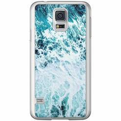 Casimoda Samsung Galaxy S5 (Plus) / Neo siliconen hoesje - Oceaan