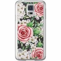 Casimoda Samsung Galaxy S5 (Plus) / Neo siliconen hoesje - Rose story