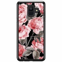 Samsung Galaxy A6 2018  hoesje - Moody florals