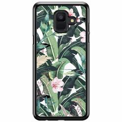 Samsung Galaxy A6 2018  hoesje - Tropical banana