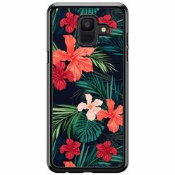 Samsung Galaxy A6 2018  hoesje - Flora