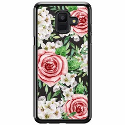 Samsung Galaxy A6 2018  hoesje - Rose story