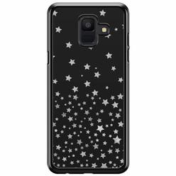Samsung Galaxy A6 2018  hoesje - Falling stars