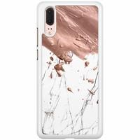 Huawei P20 hoesje - Marble splash