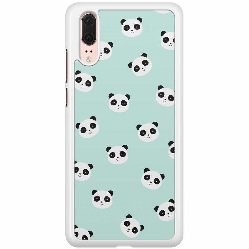 Huawei P20 hoesje - Panda's