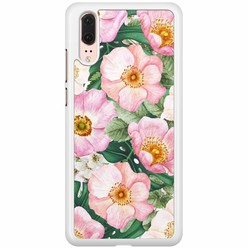 Huawei P20 hoesje - Spring floral