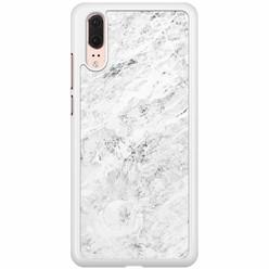 Huawei P20 hoesje - Marmer grijs
