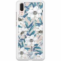 Huawei P20 hoesje - Touch of flowers