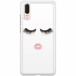 Huawei P20 hoesje - Fashion eyelashes