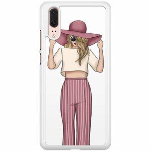 Huawei P20 hoesje - Summer girl