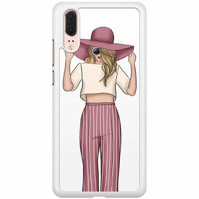 Casimoda Huawei P20  hoesje - Summer girl