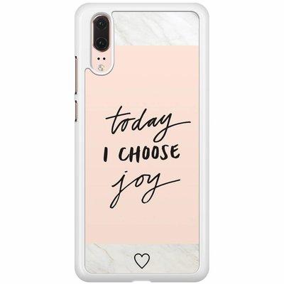 Casimoda Huawei P20  hoesje - Choose joy