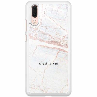 Casimoda Huawei P20  hoesje - C'est la vie