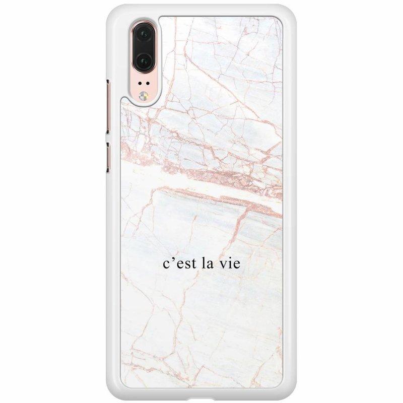 Huawei P20 hoesje - C'est la vie
