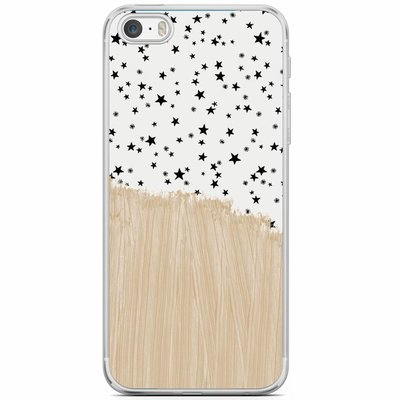 Casimoda iPhone 5/5S/SE siliconen hoesje - Keep on shining